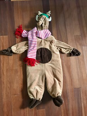 Reindeer costume size 12 to 18 months for Sale in Bailey's Crossroads, VA