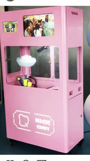 Magic cotton candy Machine 7 feet for Sale in Los Angeles, CA