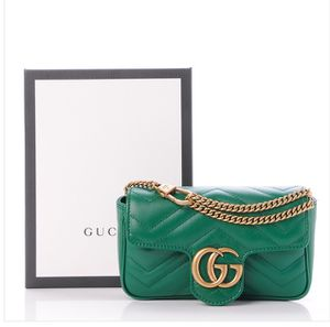 Gucci Super Mini Green Marmont Bag for Sale in Milwaukee, WI