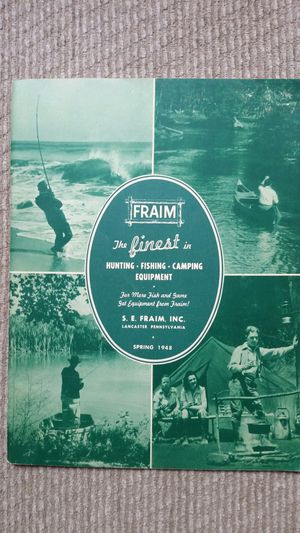 1948 hunting/fishing catalog for Sale in Frederick, MD