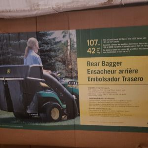 42 In Twin Bagger For 100 John Deere Tractor Brand New In Box for Sale in Orlando, FL