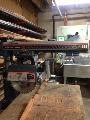"""Craftsman 10"""" Radial Arm Saw for Sale in Portland, OR"""