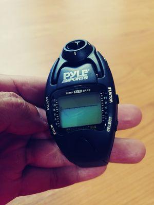 Pyle Sports Windmaster Digital Watch Wind Meter Altimeter Barometer Stopwatch Compass for Sale in Arlington, VA