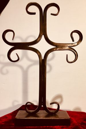 Heavy wrought iron Cross H14xW9.5xD3 inch for Sale in Chandler, AZ