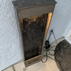 """46""""H x 12""""L x 4""""L Heavy Water Fountain ⛲️ $180 NO LOW OFFERS for Sale in North Las Vegas, NV"""