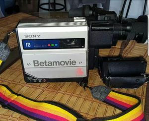 Vintage Sony betamovie BMC 110 video camera recorder for Sale in Monahans, TX