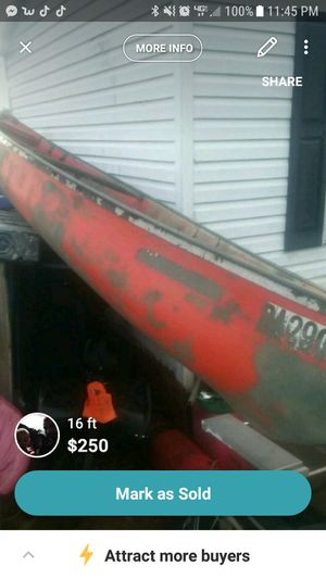 16 foot canoe for Sale in Wysox, PA