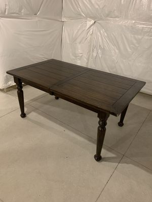 Hardwood Kitchen Table- Brown for Sale in Omaha, NE
