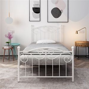 Smart Base Twin Bed Frame with mattress!! Description:Material: iron N. W.:30.9lb G.W.:36.2lb Weight capacity: 264.4lb Ground clearance: 12.2'' Overa for Sale in Houston, TX