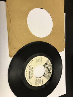 "Ozzy Osbourne Randy Rhoads 7"" 45 DJ PROMO. May 1981. ZS6 02079 Was a demonstration 45 for Sale in Pasadena, TX"