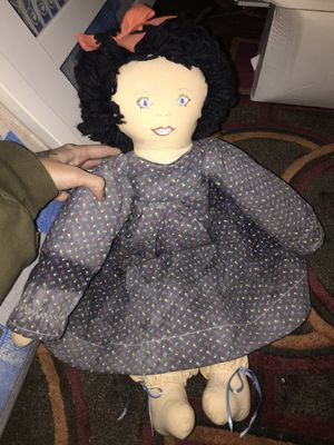 Antique Cloth Doll for Sale in Washington Township, NJ