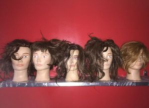 Used female training head human hair for Sale in New York, NY