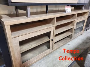NEW, TV Stand / Entertainment Center for TVs up to 95in TVs, Hazelnut , SKU# 172174TV for Sale in Garden Grove, CA