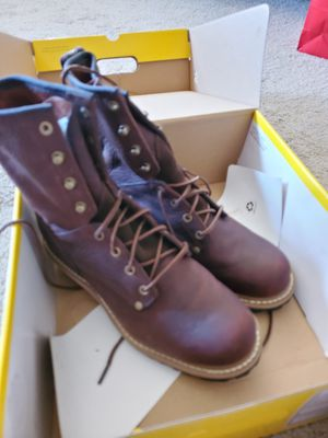 Carolina Logger Work boots for Sale in San Mateo, CA