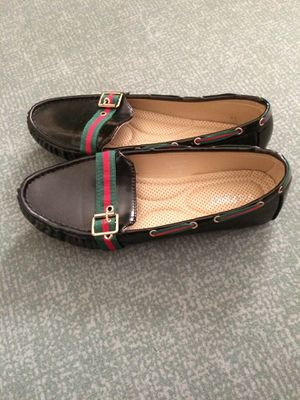 Black patent leather shoes women's Size 10 m for Sale in Gaithersburg, MD