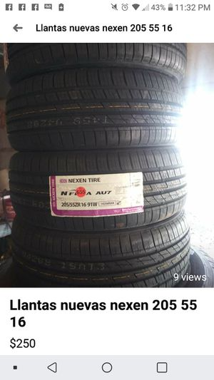 NEXEN NEW TIRES 205 55R16. for Sale in Poteau, OK