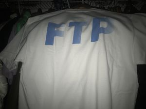 FTP motion logo shirt new never worn size large supreme hype bape palace for Sale in Princeton, FL