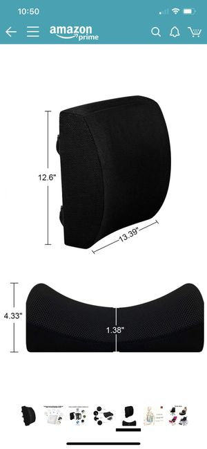New lumbar support for Sale in Temecula, CA
