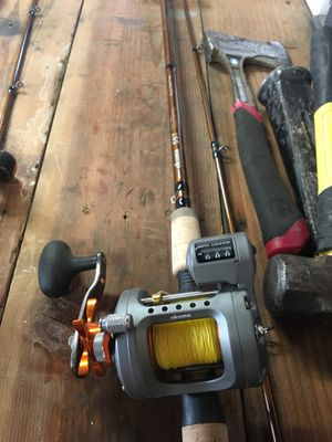 Salmon rod and reel combo for Sale in Portland, OR