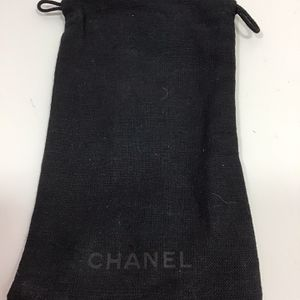 """Chanel jewelry bag 7"""" x 5"""" Black / used for Sale in Fort Lauderdale, FL"""