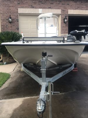 Tidewater 1784 Skiff, 75 hp Mercury outboard, Ez Loader Trailer for Sale in Tomball, TX