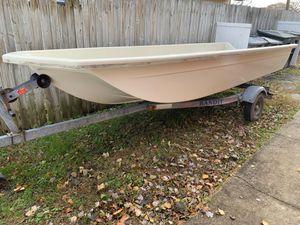 14 Foot Fiberglass Skiff for Sale in Hampton, VA