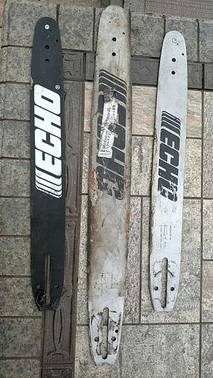 """3ho chainsaw blades x16"""" and 1x20"""" for Sale in Harwood Heights, IL"""