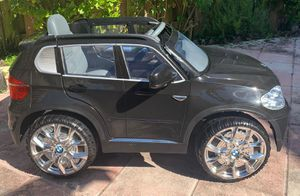 Power wheels, ride on toys, toy car, baby car, toddlers Electric kids car BMW X5 for Sale in Hollywood, FL