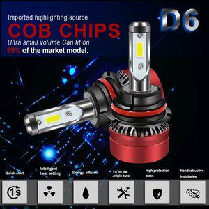 DOT Approved H8 H9 H11 H16JP 6000LM LED Headlight Bulb All-in-One Conversion Kit 6500K Led Fog Light for Toyota Camry Santa Fe Honda Civic Hatchback for Sale in Ontario, CA