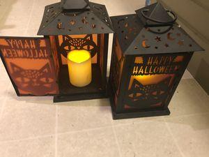Halloween Metal lanterns . for Sale in San Jose, CA