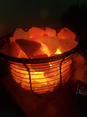 Salt lamp for Sale in Newport, VA