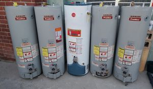 Water heaters in excellent condition with professional installation for Sale in Moreno Valley, CA