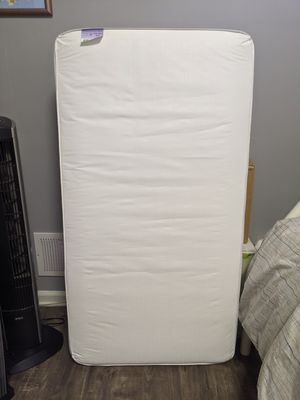 Standard crib mattress with fitted sheet for Sale in San Jose, CA