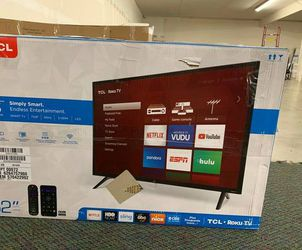 """Brand New TCL ROKU 32"""" Smart Tv! Open box w/ warranty KGB7 for Sale in China Spring,  TX"""