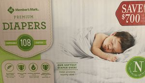 Newborn diapers for Sale in Covina, CA