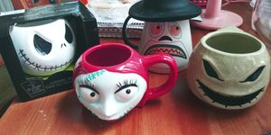 Nightmare Before Christmas Ceramic 3D Mugs for Sale in Houston, TX