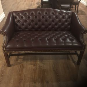 Leather Office Chair And Couch for Sale in Staten Island, NY