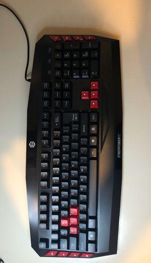 Cyber Power gaming keyboard for Sale in Lafayette, LA