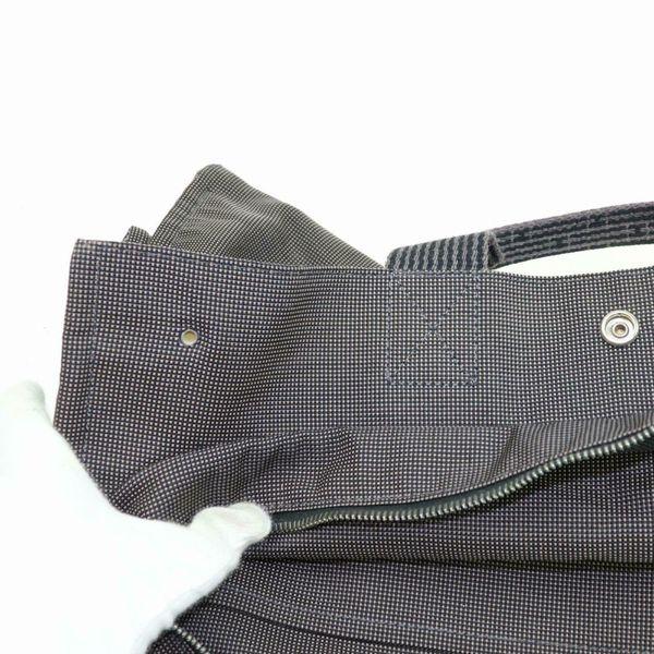 Authentic Hermes Garden Party Black Tote Bag 11241