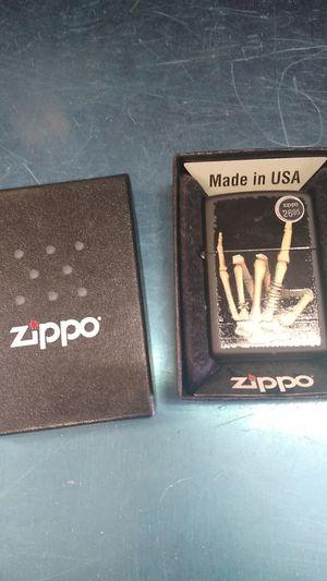 Zippo skeleton hand for Sale in Philadelphia, PA