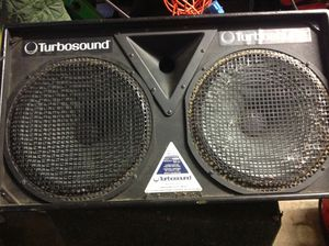 "Turbosound monitors 2x15"" x 1x2"" the cabinets are in good condition some components need replacing for Sale in Los Angeles, CA"