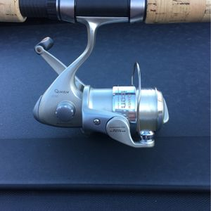 Quantum 3000 Series Reel 6-10lb Line rating w/Quantum Energy 7'0 Med Act. Rod for Sale in Upland, CA