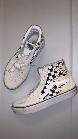 Vans flame high tops for Sale in Greece, NY