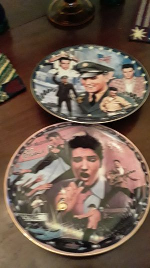 Elvis musical plates for Sale in Lake Worth, FL