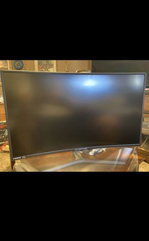 "27"" curved monitor ultra hd for Sale in Aurora, CO"