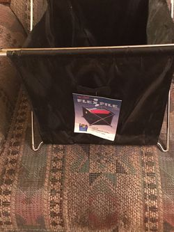 A FLEX FILE HOLDER FOLDS FLAT HOLDS HANGING FILES WITH SIDE POCKET LIKE NEW $20.00 for Sale in Philadelphia,  PA