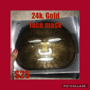 24k face mask REDUCED! 2 available for mothers day for Sale in Modesto, CA