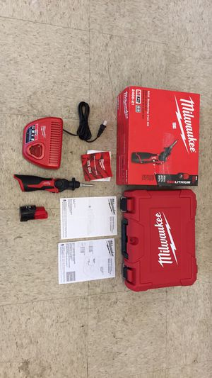 Milwaukee M12 Soldering Iron kit for Sale in Houston, TX