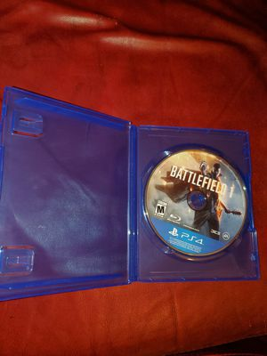 Battlefield 1 PS4 for Sale in San Leandro, CA