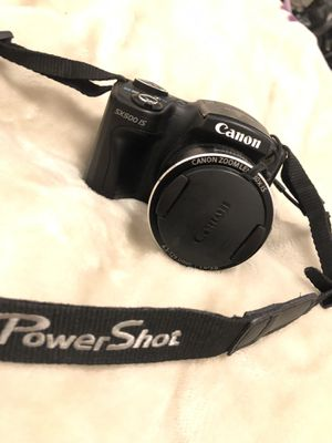 Canon Powershot SX500 IS ( Digital Camera ) OBO for Sale in West Somerville, MA